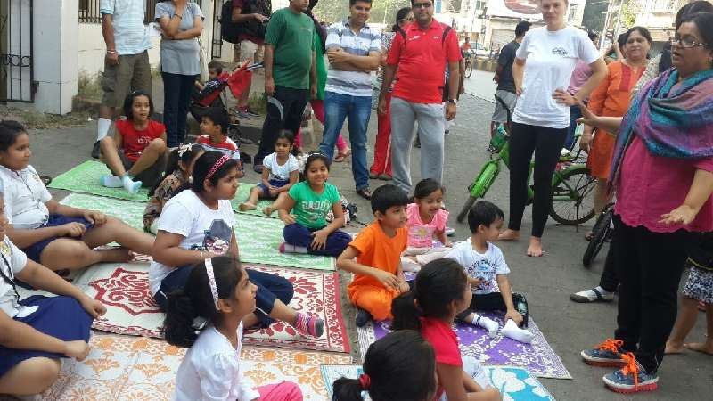 Yoga for Children at Linking Road-Khar