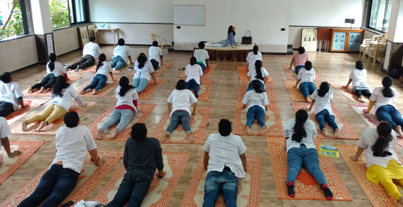 Yoga Camp Conducted For Cooper Hospital Medical Students