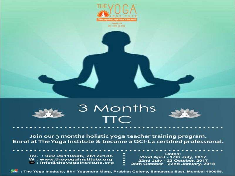 The Yoga Institute Tyi Yoga Teacher Training Course Level 2 The