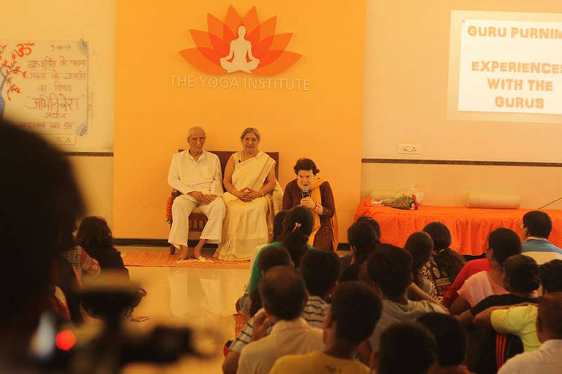 Thanking our Gurus Dr. Jayadeva & Smt. Hansaji for being our guiding light on the Yogic path of self discovery.