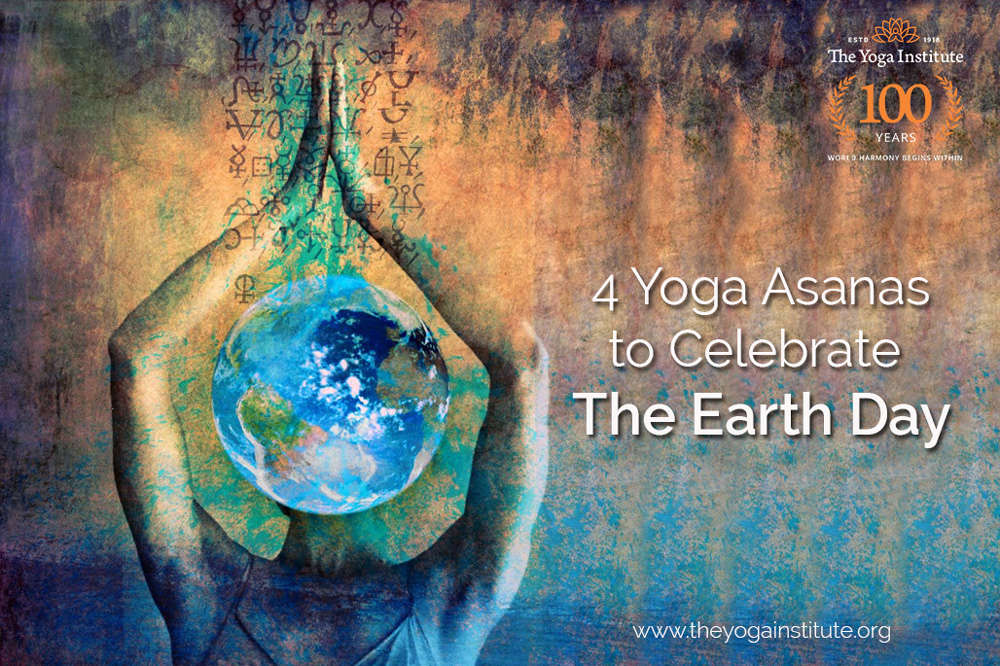 4 Yoga Asanas' to Celebrate The Earth Day