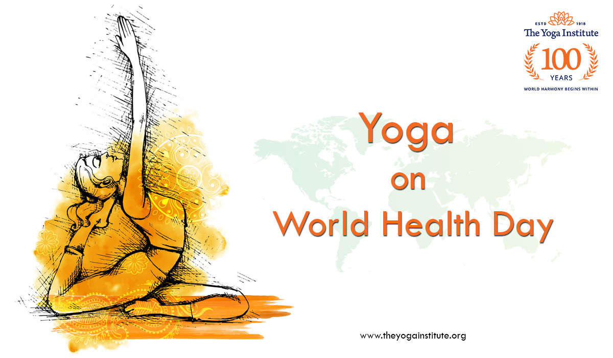 Yoga on World Health Day