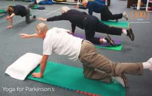 Yoga poses for Parkinson