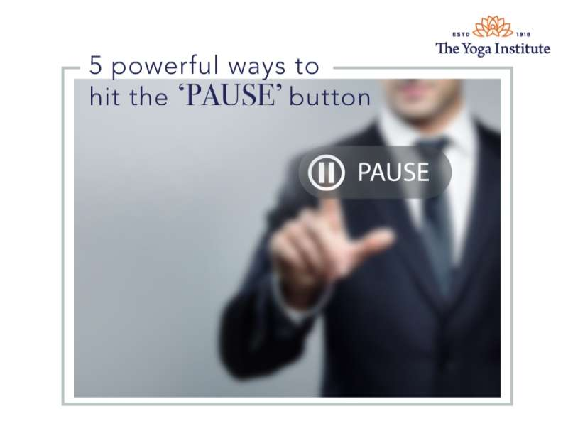 5 powerful ways to pause
