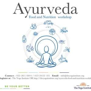 ayurveda food and nutrition workshop