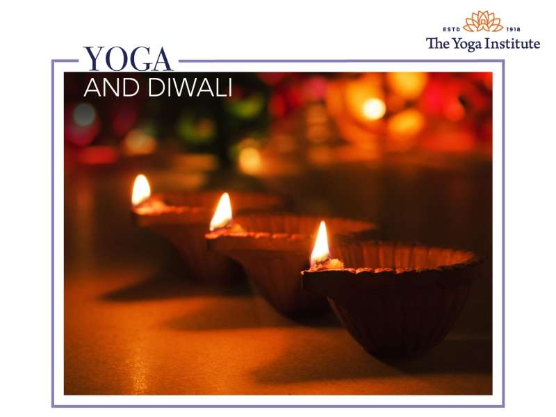 yoga and diwali blog