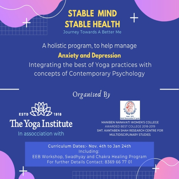 stable mind stable health tyi mumbai