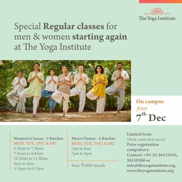 special regular classes dec 2020