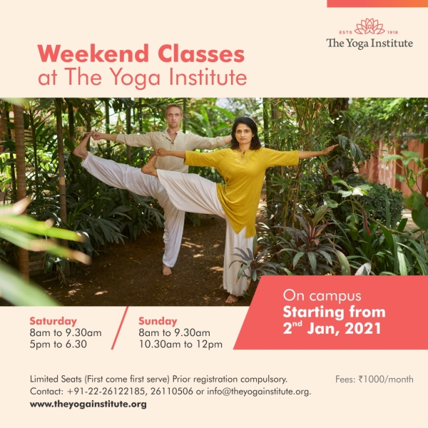 weekend-classes jan 2021
